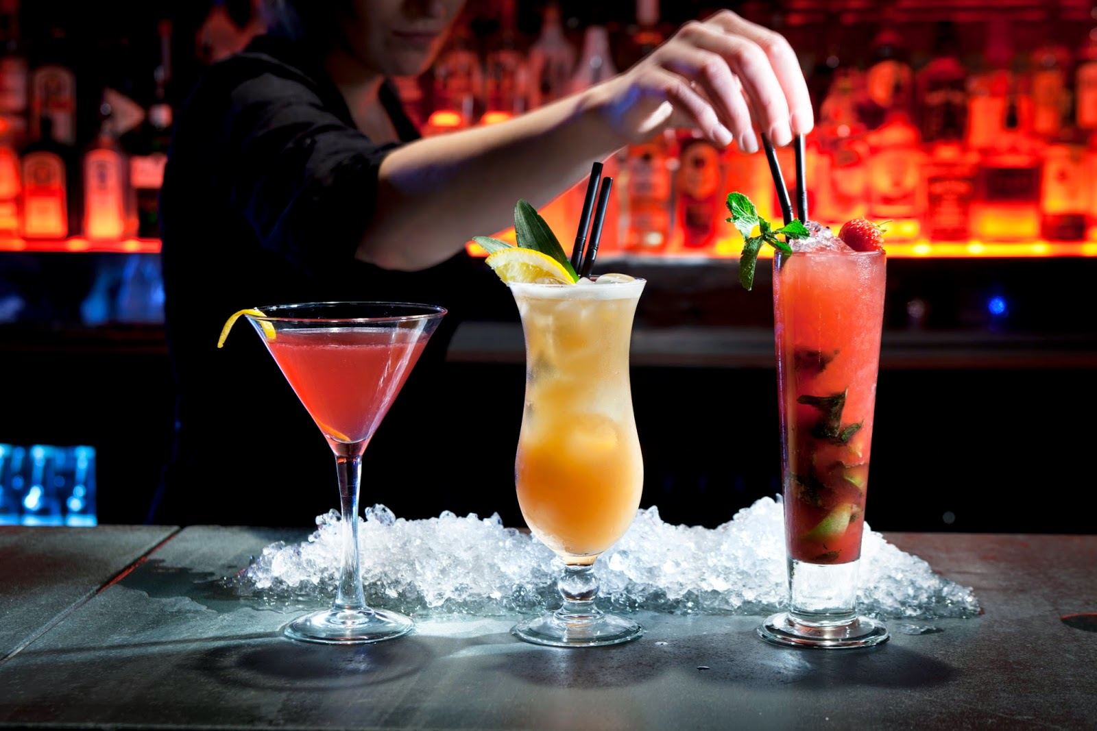 La ruta de la cocteler a de autor Good fruity drinks to get at a bar