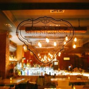 Siete Negronis: el cóctel tienesoul