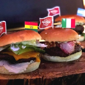 Tour de hamburguesas en Hard Rock Café