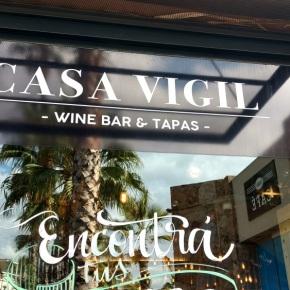 Casa Vigil: vino y cocina enMendoza