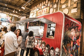 Crepas: el nuevo sabor rápido y gourmet llega aSantiago