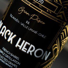 Black Heron, el primer piscoahumado