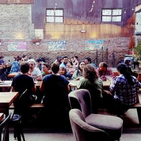 Galpón Italia: el bar del verano enSantiago